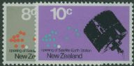 NZ SG958-9 Opening of Satellite Earth Station set of 2